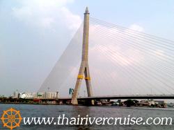 สะพานพระราม 8, ล่องเรือ แม่น้ำเจ้าพระยา เที่ยวอยุธยาเต็มวัน พร้อมอาหารกลางวัน บุฟเฟ่ท์นานาชาติ ชา กาแฟ