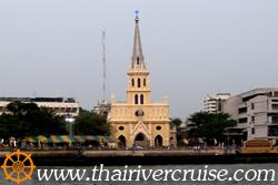 The Holy Rosary Church , Bangkok. (วัดแม่พระลูกประคำ หรือ วัดกาลหว่าร์ )