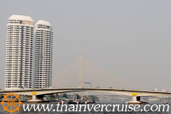 Rama 8 Bridge - Rama VIII Bridge, Bangkok. ( สะพานพระราม 8 )