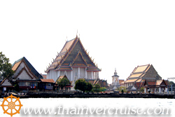 Wat Kanlayanamit , Bangkok. ( วัดกัลยามิตร )