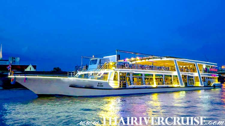 River Star Princess Cruise Welcome aboard the River Star Princess Cruise and spend an exciting and memorable 2 hour-long evening cruising and dining along the Chaophraya  Rive