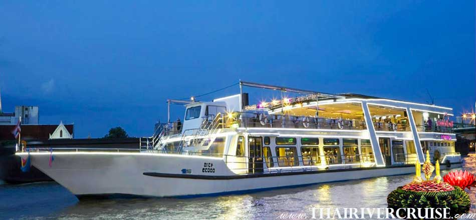 Loy Kratong Dinner Cruise River Star Princess Cruise Bangkok Thailand