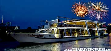 River Star Princess Cruise New Year EVE Dinner Cruise Bangkok Thailand