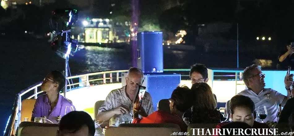 Best one for Bangkok Dinner Cruise on Royal Princess Cruise New Luxury Large Elegance Bangkok Dinner Cruise on the Chao Phraya River,Thailand