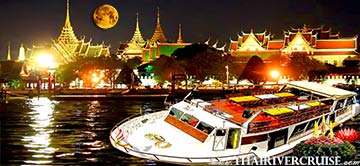 Loy Krathong Bangkok on Sanook Sabai River Dinner Cruise Thailand