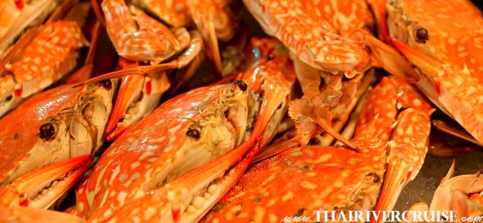 Seafood Dinner Cruise Bangkok Floating Restaurant River Thailand