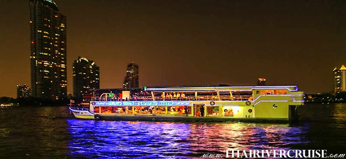 River Star Princess Cruise Bangkok night cruise dinner Chaophraya River Bangkok Thailand