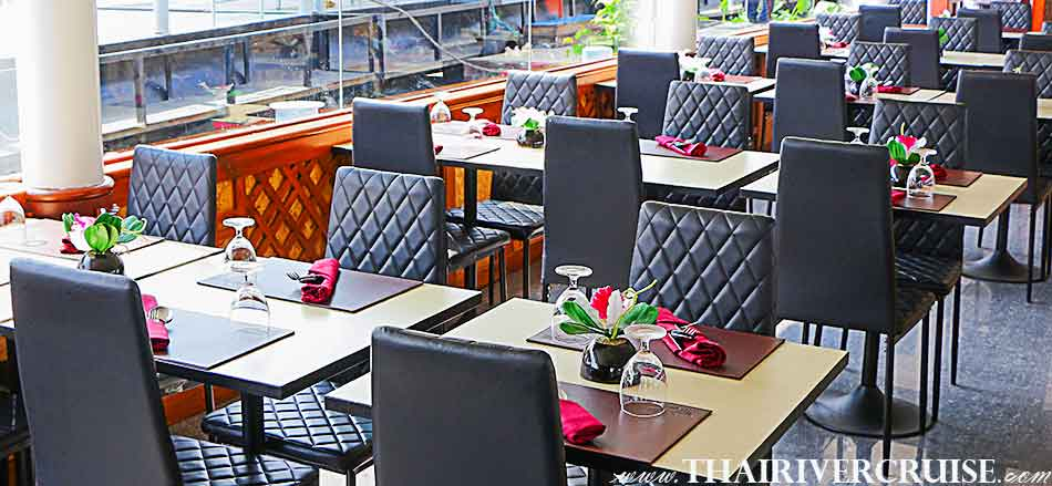 Welcome aboard Chaophraya River Sightseeing Cruise Bangkok River Cruise Tour Chaophraya River Thailand