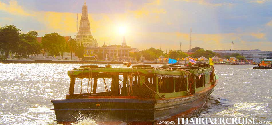 Bangkok Canal Tour with lunch by Chaophraya express  boat, cruising along the Chaophraya river and canals