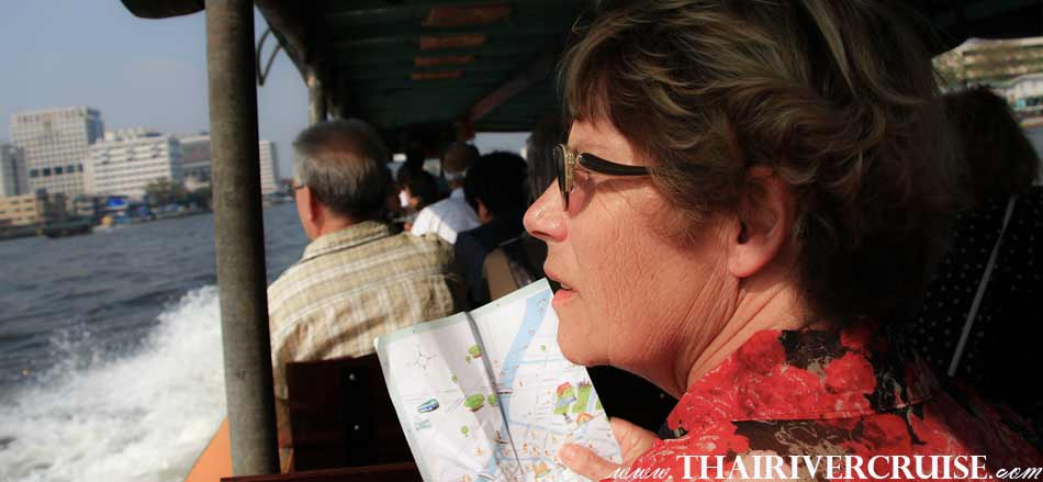 Life jacket available for all persons, Sunset Boat Tour Bangkok Private Long Tail Boat Tour