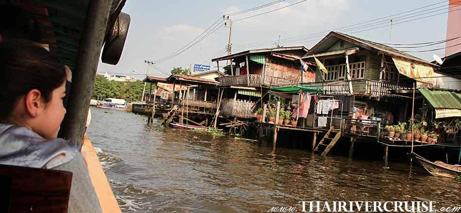 Thai way of life, Sunset Boat Tour Bangkok Private Chao Phraya River Bus Boat Tour