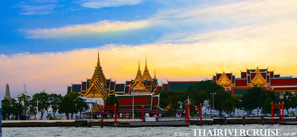 THE ROYAL GRAND PALACE WAT PHRAKAEW BANGKOK,Sunset Cruise Bangkok