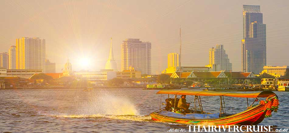 Best private long tail boatsunset tour on the Chao phraya river Bangkok,Thailand,Sunset Boat Tour Bangkok Private Long Tail Boat Tour