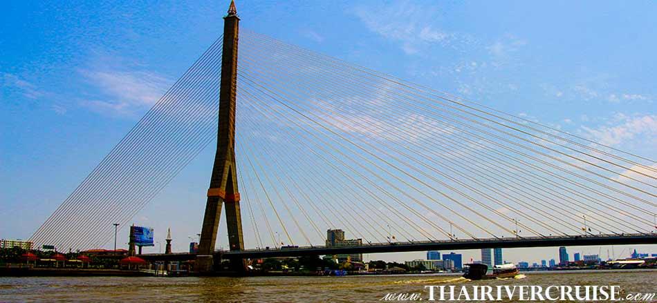 RAMA 8 BRIDGE BANGKOK,Sunset Boat Tour Bangkok Private Long Tail Boat Tour