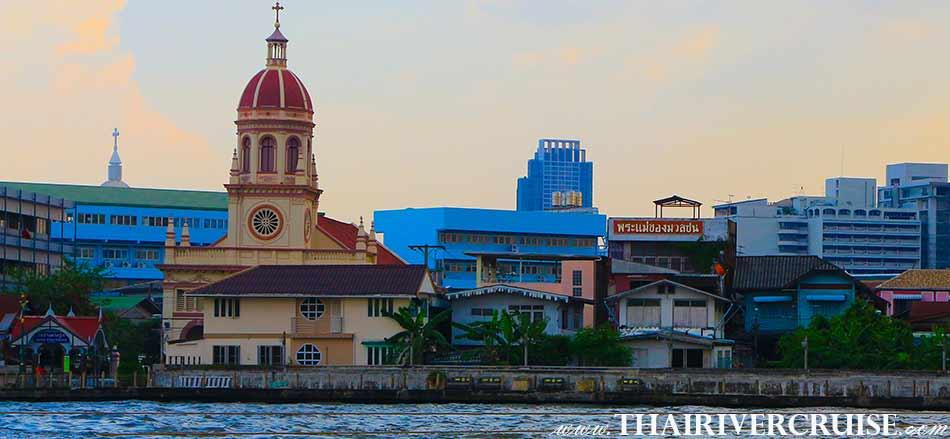 SANTA CRUZ CHURCH,Sunset Boat Tour Bangkok Private Long Tail Boat Tour