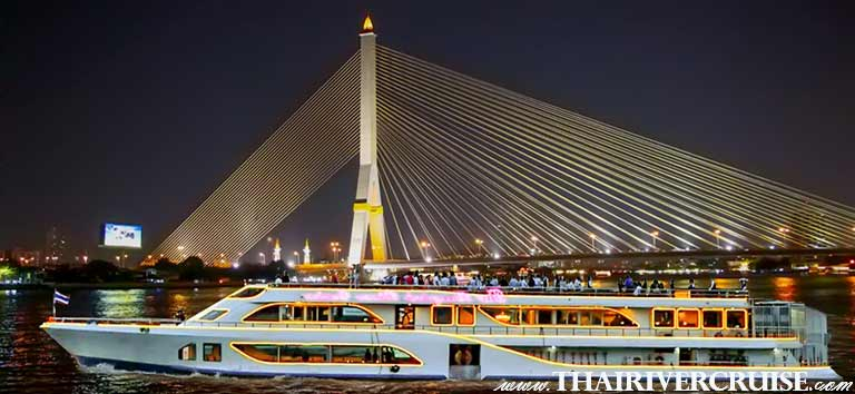 The Bangkok River Cruise,Best the Bangkok River Cruise, Night dining Bangkok by International & Seafood Buffet Dinner soft drink dinner cruise and shows on Chaophraya river Bangkok,Bangkok Dinner Cruise on The Chao Phraya River