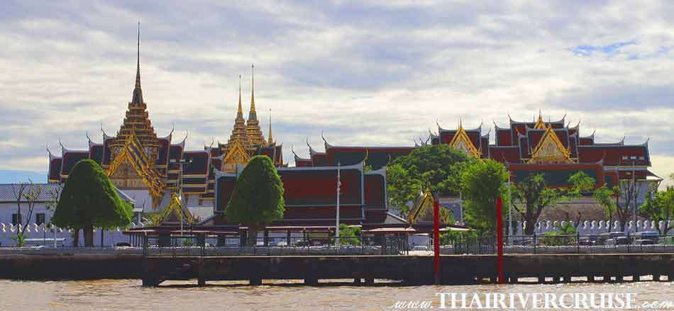 Grand Palace Bangkok,  Bangkok Sunset View of Chao Phraya river,Thailand