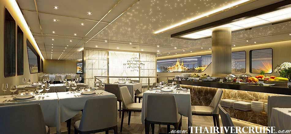 Bangkok dinner cruises on the chao phraya river, The Bangkok River Cruise