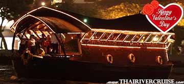 Celebrate Valentine Dinner Cruise onl Loy Nava Cruise Bangkok Thailand