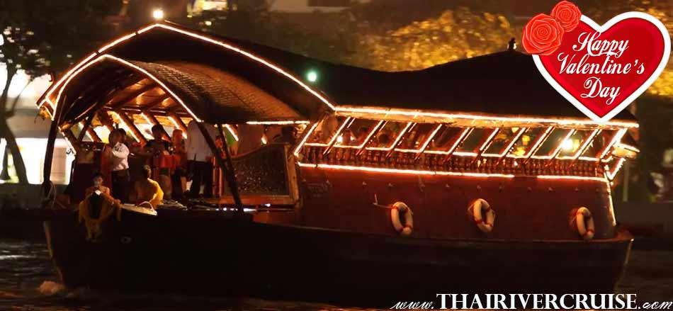 Valentine Dinner Bangkok on Loy Nava Cruise Bangkok Thailand