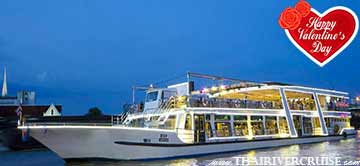 Valentine dinner Bangkok 2019 River Star Princess Cruise