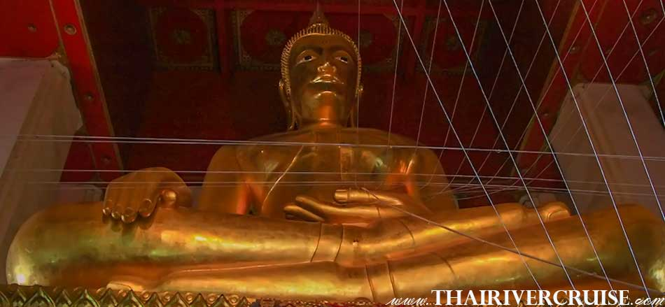 Wat Lokayasutharam Ayutthaya, Ayutthaya River Cruise full day tour from Bangkok by river cruise Chaophraya River Thailand