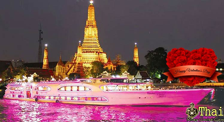 Romantic Dinner Cruise Valentine's celebration with WONDERFUL PEARL CRUISE