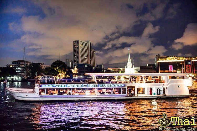 Celebrating New Year Party 2016 @ White Orchid River Cruise 2  on Chaophraya River December 31th  2015