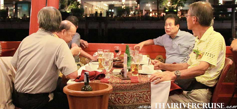 Loy Krathong Bangkok Best Place for Full moon party on Loykratong Night Wanfah Dinner Cruise