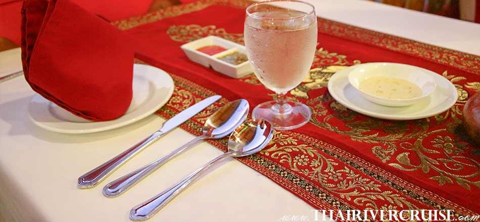 Loykratong River Cruise on Loy Krathong Festival  Bangkok Best Place Wanfah Dinner Cruise