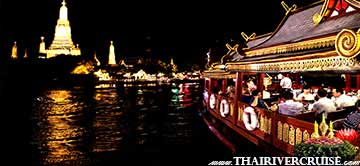 Loy Krathong Bangkok Best Place Dinner Cruise Wanfah Cruise Thailand