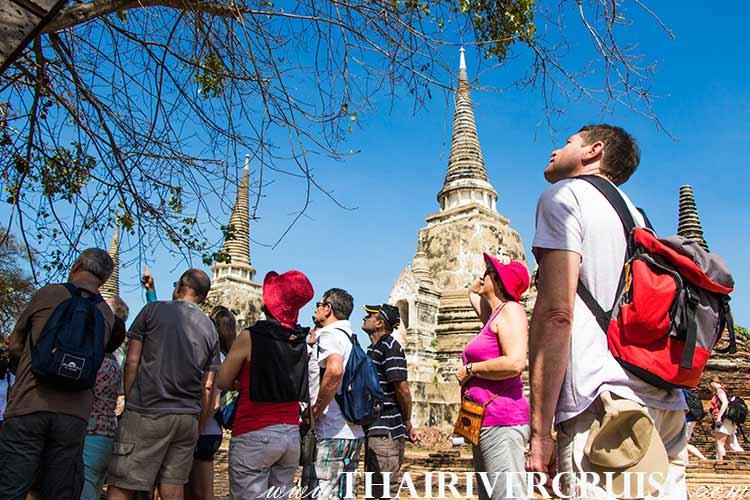 Ayutthaya Tour from Bangkok by River Cruise