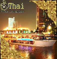 River Side Cruise Chaophraya River Dinner Cruise In Bangkok - Cruise ship in thailand