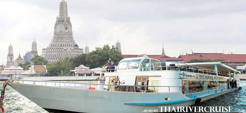 ล่องเรือ สำราญ แม่น้ำเจ้าพระยา เที่ยวอยุธยา 1 วัน โดยรถ-เรือ ไวท์ออร์คิด ริเวอร์ ครูซ วันเดียวเที่ยวคุ้ม อยุธยาเมืองมรดกโลก ประวัติศาสตร์