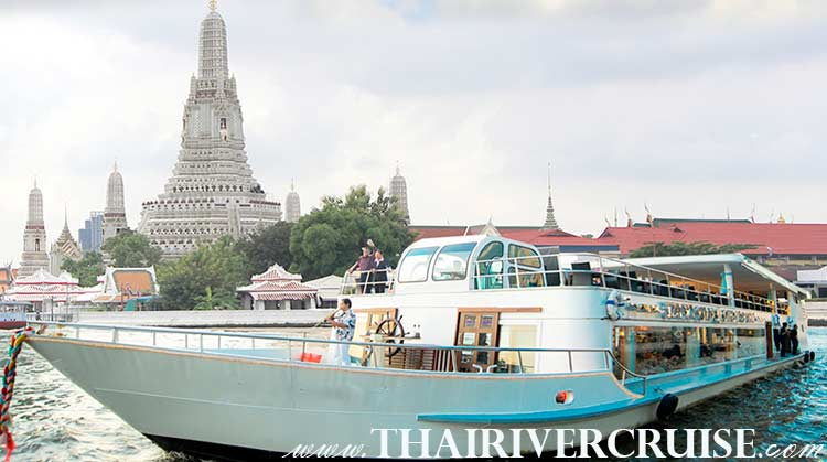 Ayutthaya River Cruise by White Orchid River Cruise