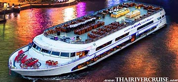 Bangkok Countdown New Year Dinner Cruise White Orchid River Cruise Thailand
