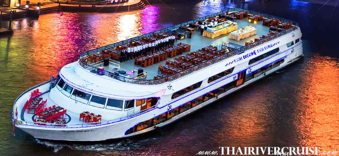 White Orchid River Cruise luxury Bangkok Dinner Cruise, Bangkok Thailand