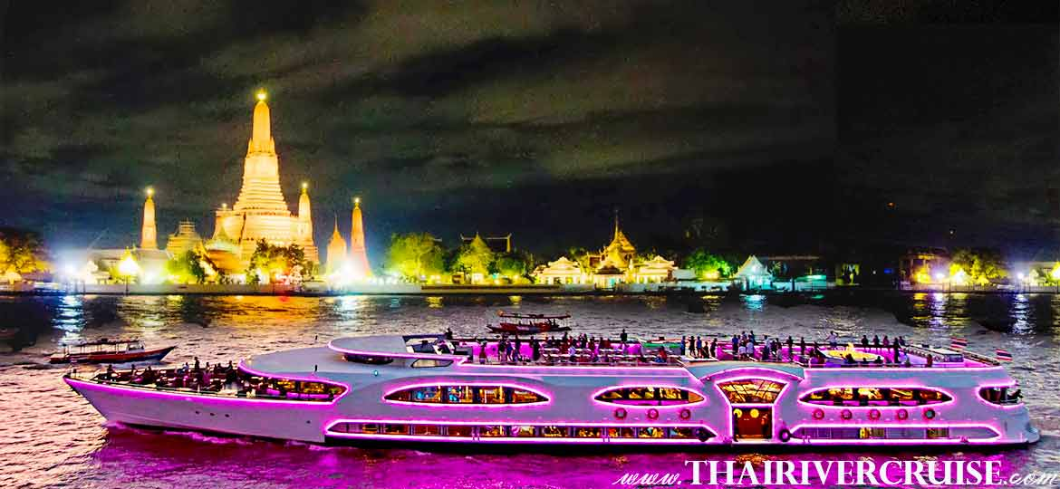 BANGKOK DINNER CRUISE on Wonderful Night at the