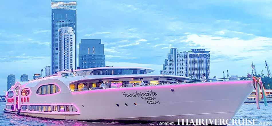 ยินดีต้อนรับ สู่ วันเดอร์ฟูลเพิร์ล ครูซส์ เรือสำราญ ดินเนอร์ แม่น้ำเจ้าพระยา หรู 5 ดาว