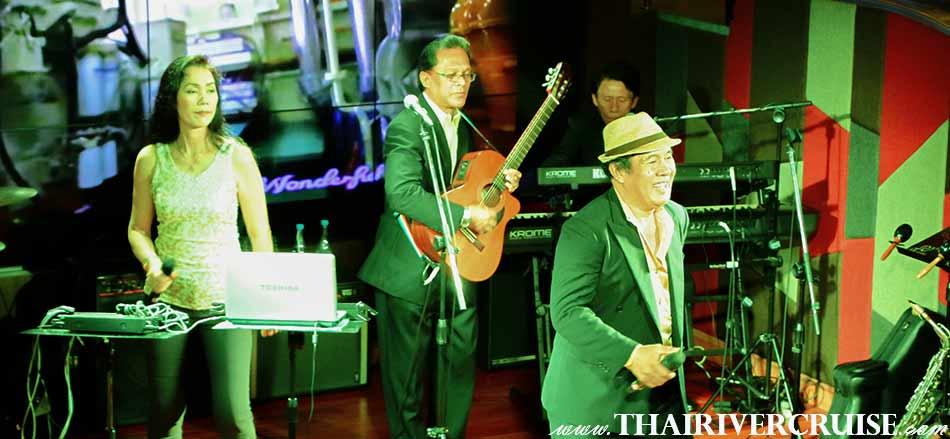 สนุกสนานกับวงดนตรีชั้นนำจากประเทศ ฟิลิปปินส์ พร้อมนักร้องเสียงดี มืออาชีพ คอยขับกล่อมด้วย เสียงเพลง สากล ที่ท่านคุ้นหู แบบซึ้ง ฟิน ๆ กันไปเลย บน วันเดอร์ฟูลเพิร์ล ครูซส์