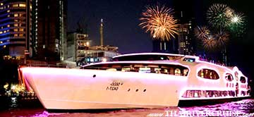 New Year Dinner in Bangkok Wonderful Pearl Cruise Happy New Year