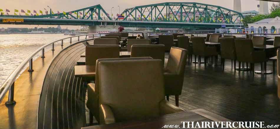 Wonderful Pearl Cruise Sunset Dinner Cruise Bangkok, Luxury 5-Star Sunset Dinner River Cruise Chao Phraya river
