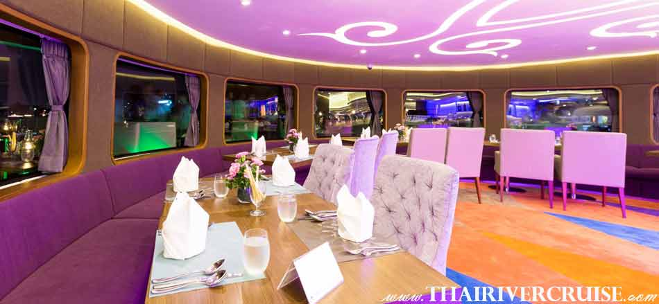 Wonderful Pearl Cruise Sunset Dinner Cruise Bangkok,Our elegant buffet on top deck of Wonderful Pearl Cruise with serves up   European, Japanese, Thai  and international cuisine