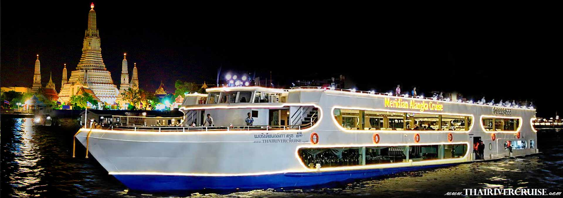 Alangka Cruise Bangkok Dinner Cruise Promotion Discount Cheap Ticket Price Offers Booking Online