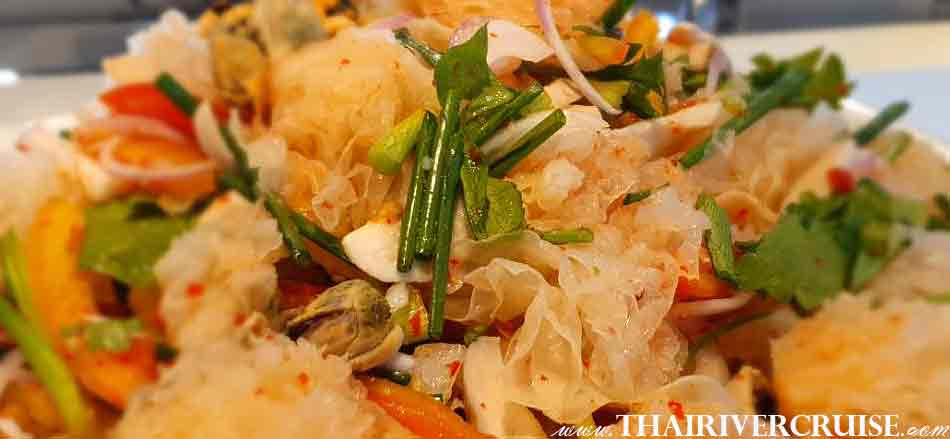 Thiai Spicy onboard Meridian Cruise Sunset Dinner Cruise
