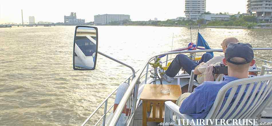 Morning Chao phraya river cruise trip Bangkok with lunch, Best River Cruise Bangkok with Lunch on the Chaophraya River River
