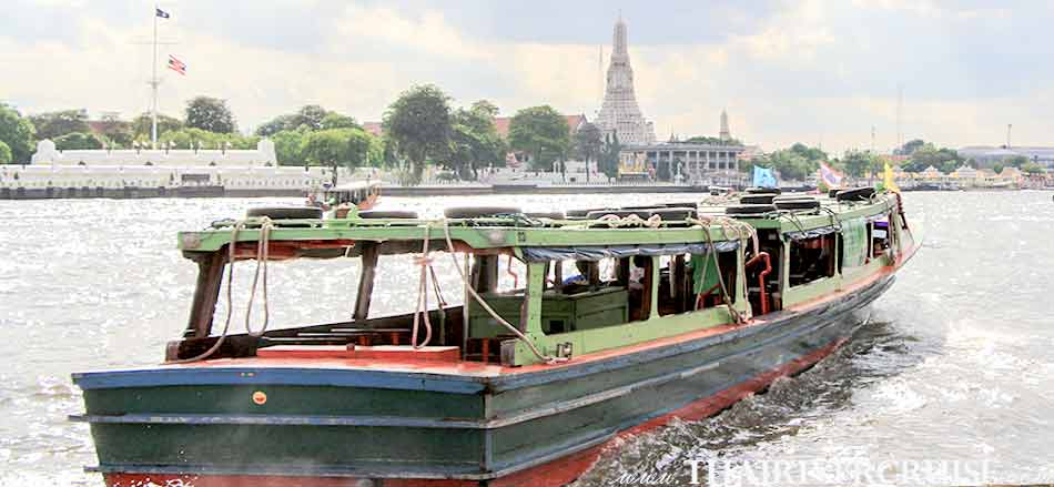 Chaophraya Express Boat Tour Rental Service for Tourists Bangkok Thailand