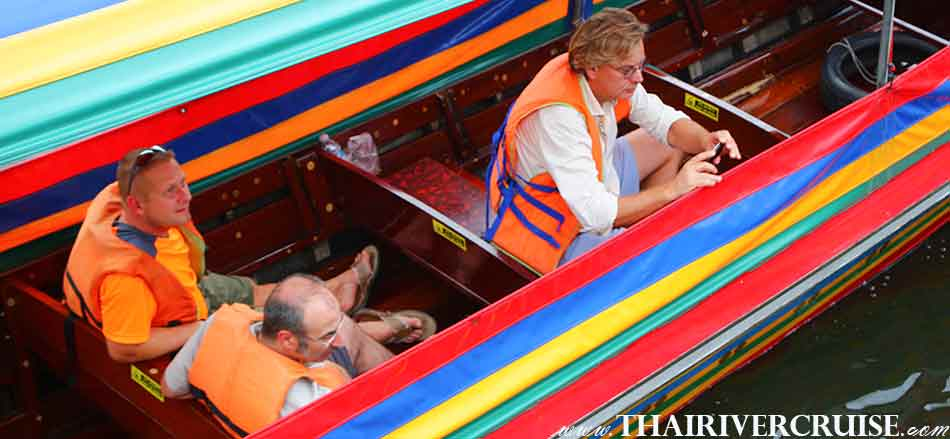 Famous Trip in Bangkok, Sunset Boat Tour Bangkok Private Long Tail Boat Tour