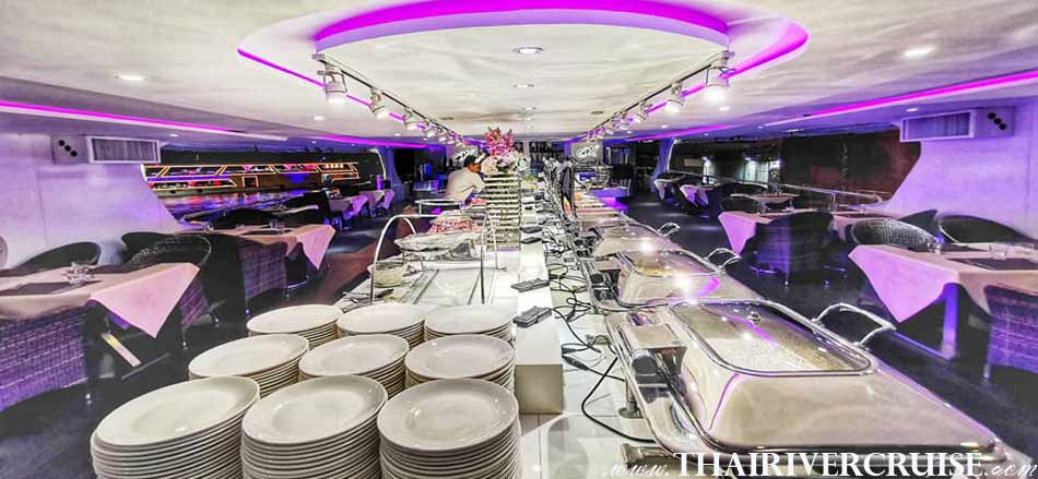 Upper desk open Air, Meridian Cruise Bangkok Dinner Cruise Cheap Price Tickets Offer Now
