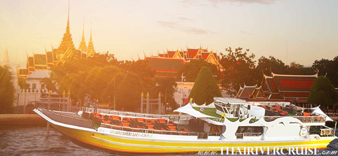 Sunset Cruise Bangkok by Yod Siam Cruise, Enjoy to the beautiful Sunset & Night scenery on both side of Chaophraya River Bangkok.